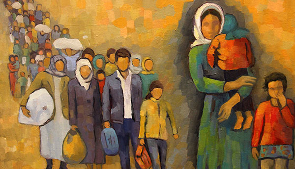 Kadın Ressamların Eserleri çsmde
