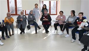 Çankaya'dan Mülteci Kadınlara Eğitim Desteği