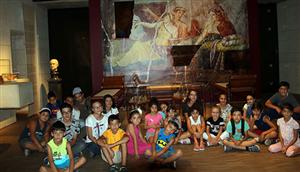 Çocuklar Arkeoloji ve Sanatla İç İçe