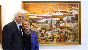 """""""Doğanın ve Hayatın İçinden Resimler"""" Zülfü Livaneli Kültür Merkezi'nde"""