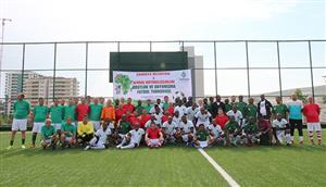 Çankaya'da Afrika Günü'nde Futbol Resitali