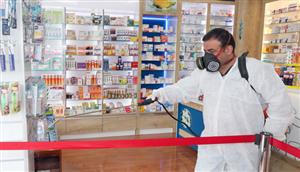 Çankaya'da Pandemi İlaçlaması